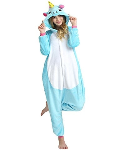 Blue Unicorn Pony Onesie for Adults