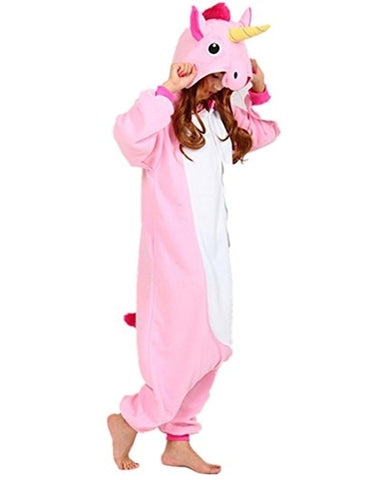 Pink Unicorn Pony Onesie for Adults
