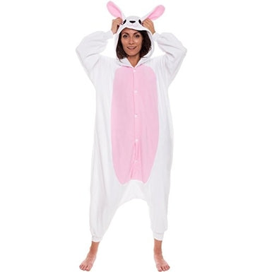 Cute Bunny Onesie For Adults