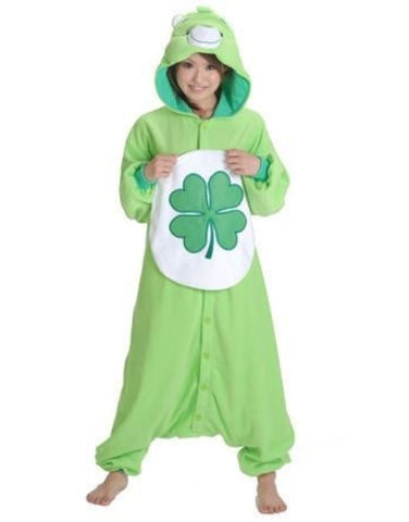 Clover Teddy Bear Onesie for Adults
