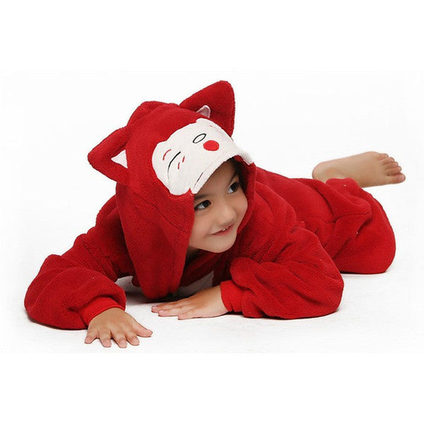 Red Fox Onesie for Kids - Unicorn Onesies