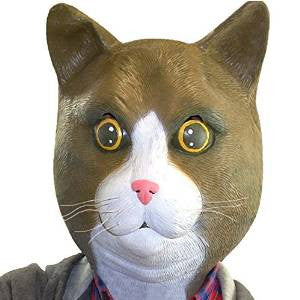 Cat Mask Animal Adult Size