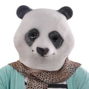 Panda Mask Animal Adult Size