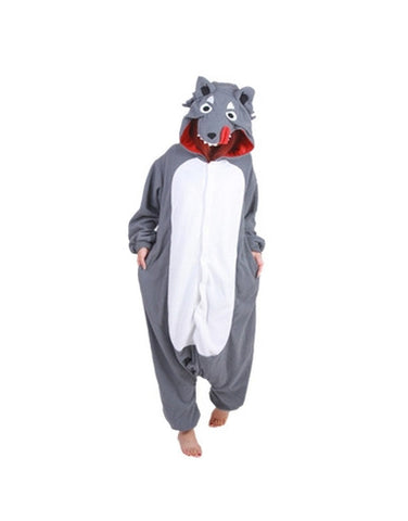 Wolf Onesie For Adults