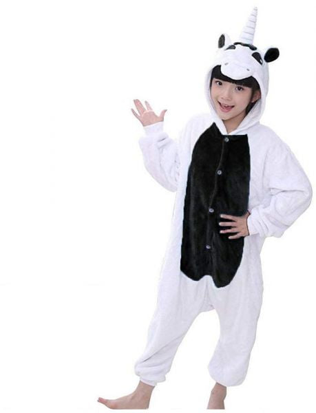 Black Unicorn Onesie for Kids