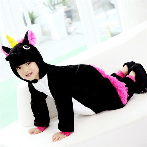 Black Pony Onesie for Kids