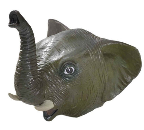 Elephant Latex Animal Mask