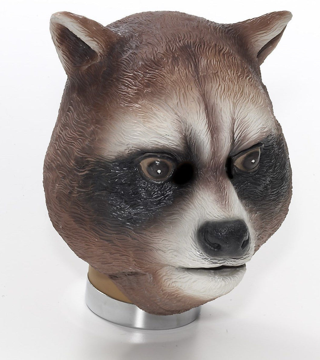 Raccoon Latex Mask Animal Halloween Mask - Unicorn Onesies