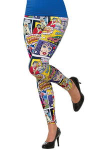 Comic Book Leggings - Unicorn Onesies