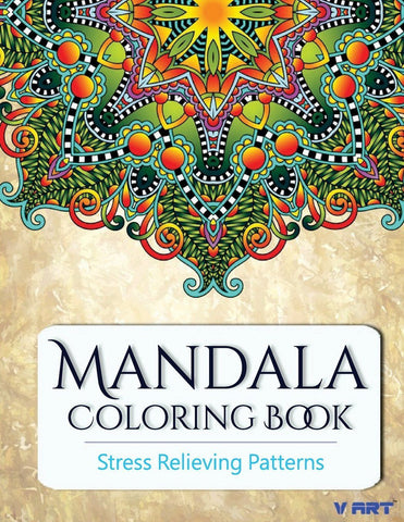 Mandala Coloring Book Coloring Books for Grown Ups