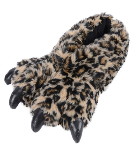 Cheetah Animal Slippers With Claws