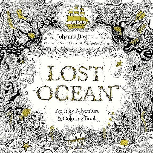 Lost Ocean Adult Coloring Book - Unicorn Onesies