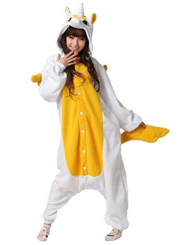 Golden Unicorn Onesie For Adults