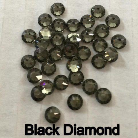 Swarovski Elements Black Diamond
