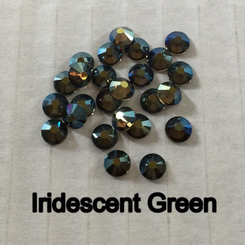 Swarovski Elements Crystal Iridescent Green