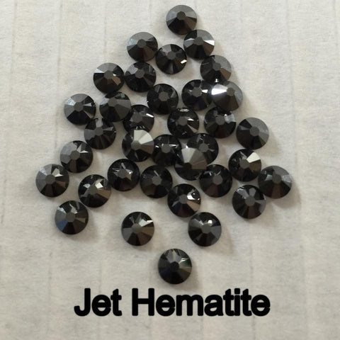 Swarovski Elements Jet Hematite