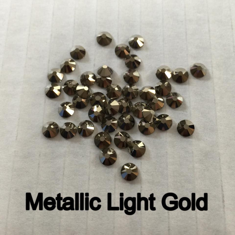 Swarovski Elements Metallic Light Gold
