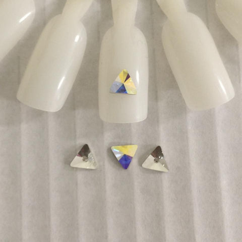 Swarovski Elements Rivoli Triangle - 10 pcs