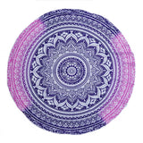 150cm Large Chiffon Printed Round Beach Towels With Tassel Circle Beach Towel Serviette De Plage Reactive Printing