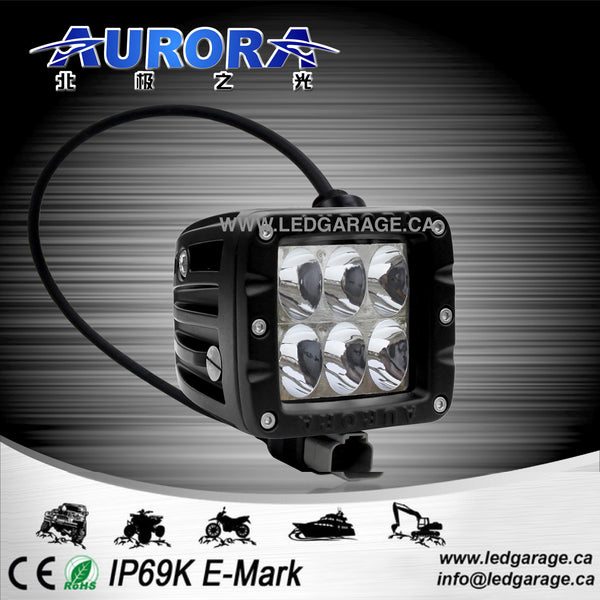 "2"" CUBE - DRIVING BEAM - 30 WATT - 2800 LUMENS"