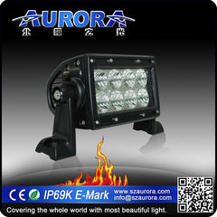 "4"" DUAL ROW - FLOOD BEAM - 40 WATT - 2240 LUMENS"