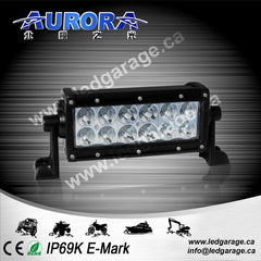 "6"" Dual Row, 60 watts, 3360 lumens, spot/flood combination"