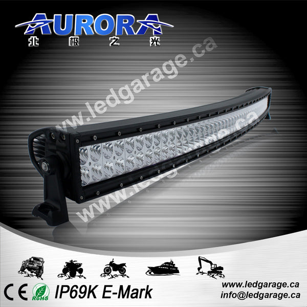 "50"" Curved Dual Row, 300 watts, 24000 lumens, spot/flood combination"