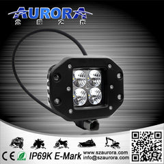 "2"" FLUSHMOUNT CUBE - FLOOD BEAM - 40 WATT - 3200 LUMENS"