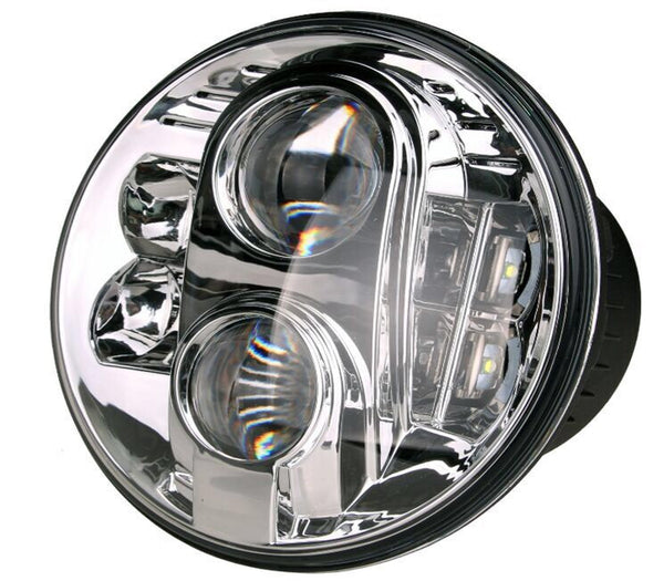 "7"" ROUND STREET BIKE HEADLIGHT 4800 LUMENS"