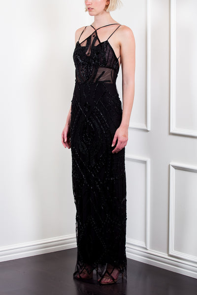 Deco Beaded Gown