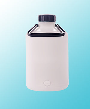 ABDOS Aspirator Bottle With Stopcock HDPE