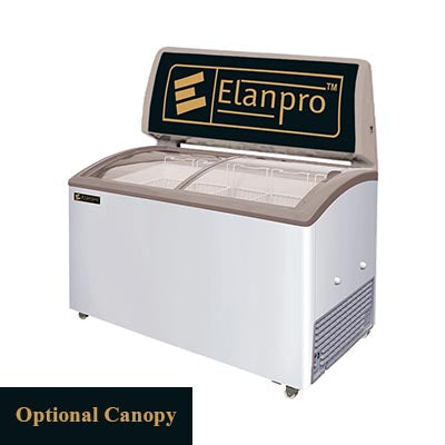 Elanpro 410/415D GlassTop Chest Freezer