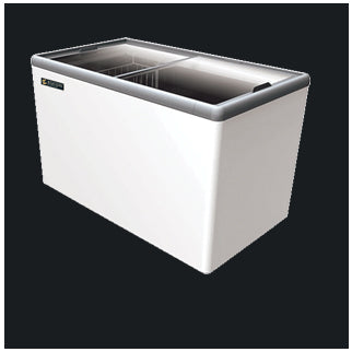 Elanpro- EKG 450 Glass Top Chest Freezers Flat Glass