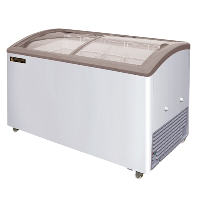 Elanpro EKG 625 DL GlassTop Chest Freezer