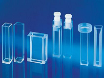 Cuvette - Semi Micro cell with frosted walls and with lid - 2/PK