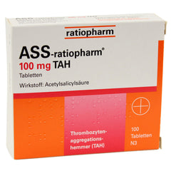 ASS Ratiopharm 100mg