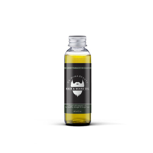 HAIR & BEARD OIL - Dr. WIMA BEAUTY