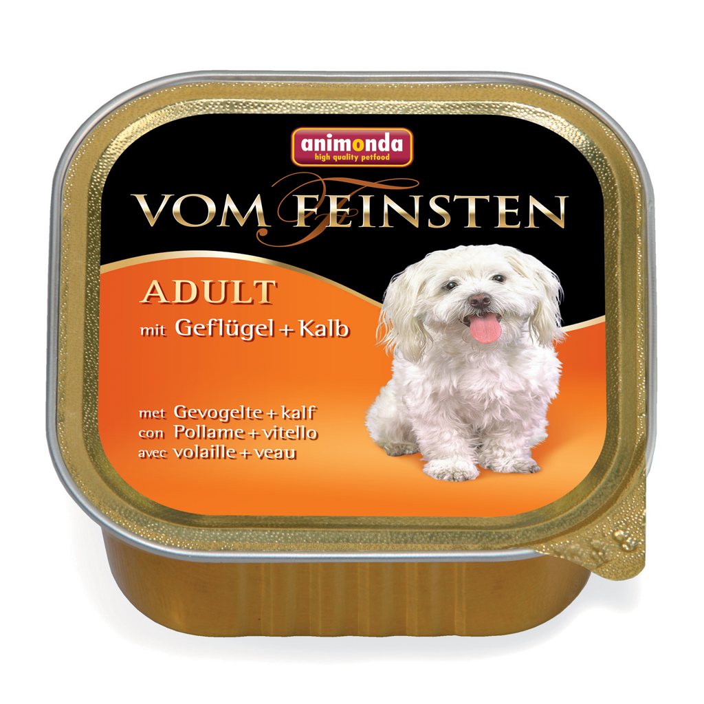 Dog Feinsten Adult 150g kjúkl+kálf