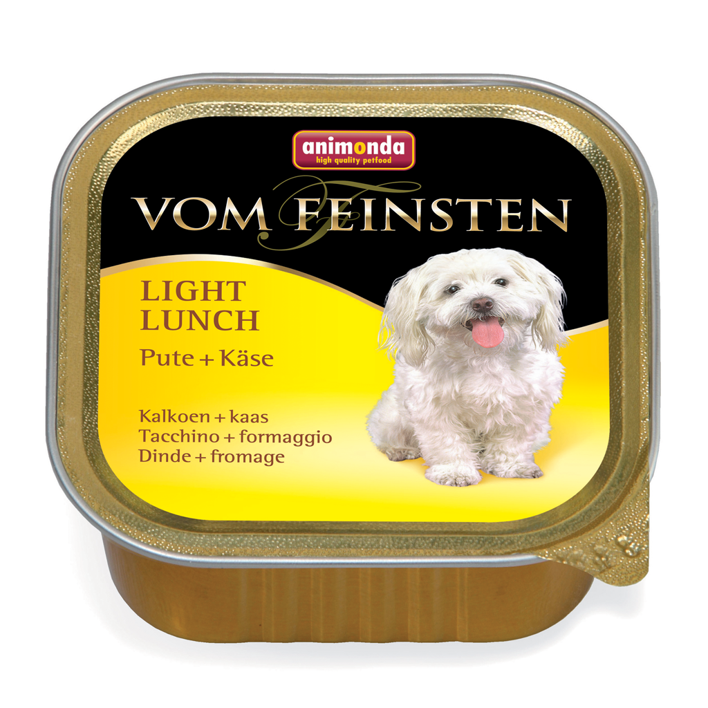 Dog Feinsten Light 150g kalkún+ost