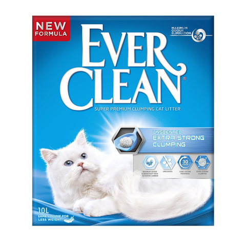 Ever Clean - Unscented Clumping 10L