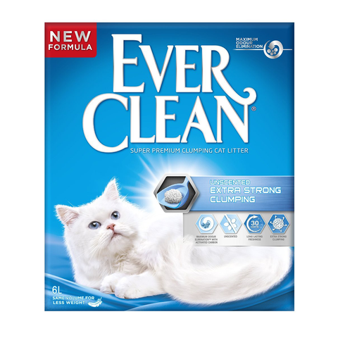 Ever Clean - Unscented Clumping 6L