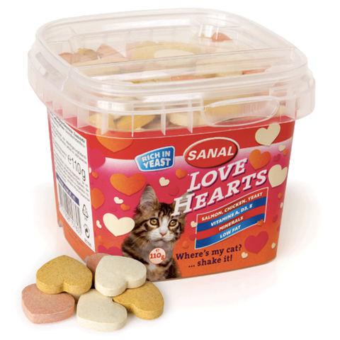 Kattanammi love hearts 110g