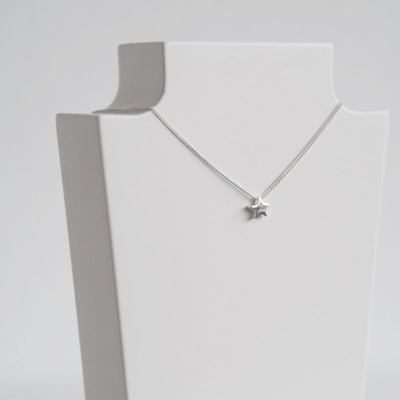 Sterling Silver Star Necklace