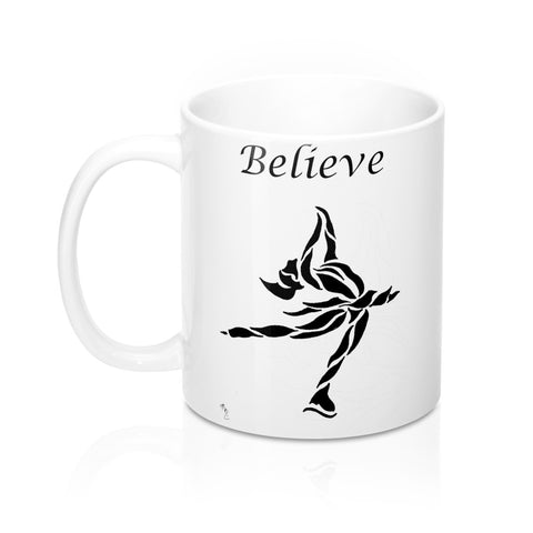 """Believe"" Ice Skating- Coffee Mug"