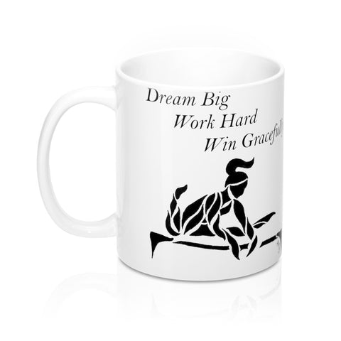 """Dream Big"" Gymnastics Parallel Bars- Coffee Mug"