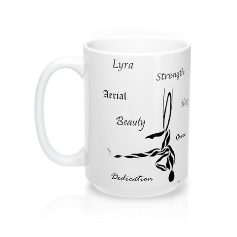 """Aerial Strength"" Lyra- Coffee Mug"