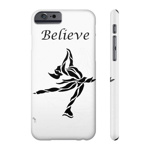 """Believe"" Ice Skating- Phone Case"