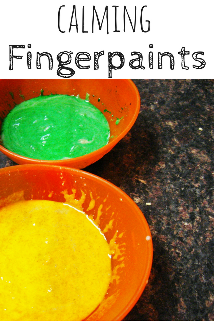 Aromatic Finger Paints