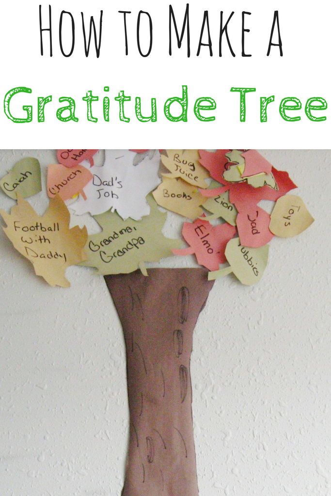 How to Create a Gratitude Tree