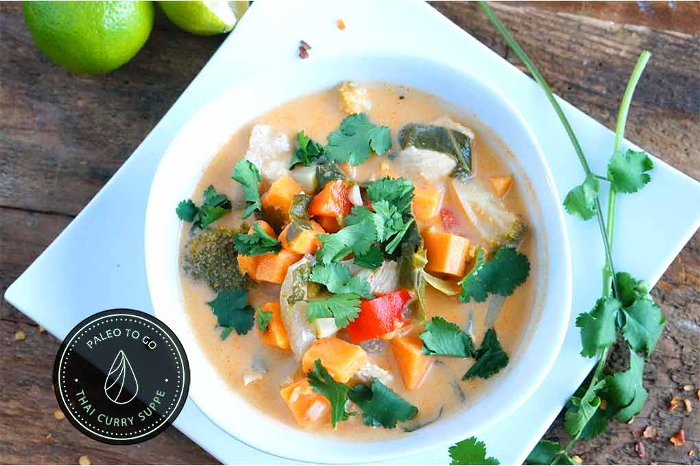 Thai Curry Suppe oben | PaleoToGo.de